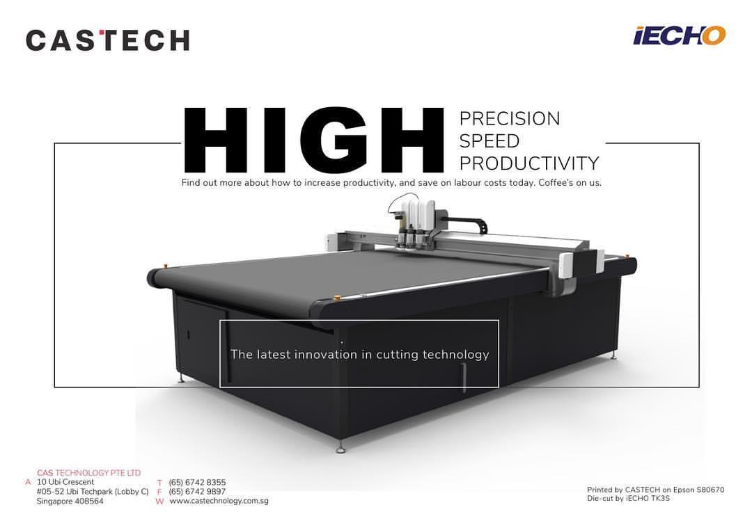 【Industria dei segni】 Tecnologia CAS. Singapore