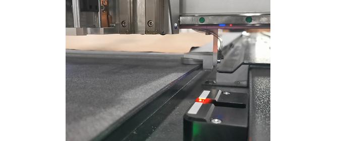 Sistema di inizializzazione automatica del coltello