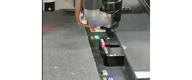 Inizializzazione automatica del coltello IECHO
