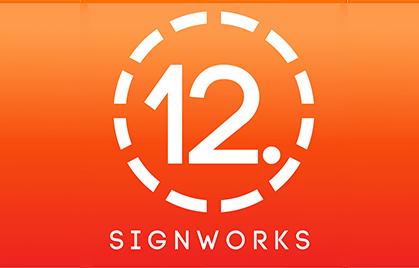 【Industria della segnaletica】 SignWorks a 12 punti. America